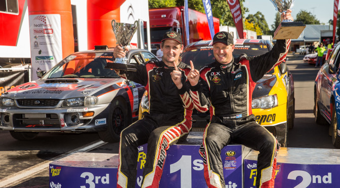 Team News: That winning feeling, Success for the Repco Rally Team in WA.